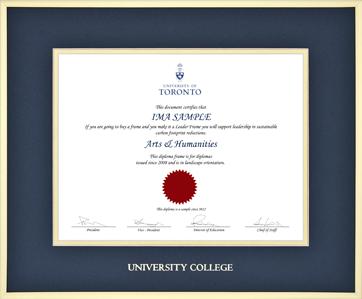 degree certificates